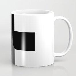 Plus T-Shirts | NWO | Black Cross Coffee Mug