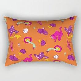 Mushrooms of Alice Rectangular Pillow