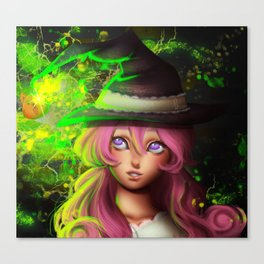 Charm witch Canvas Print