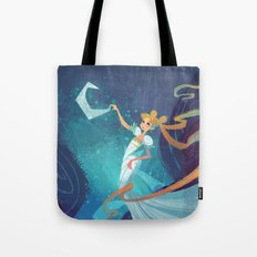 Serenity on the Moon Tote Bag