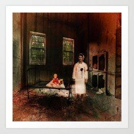 The Nurse - A Ghost Story Art Print