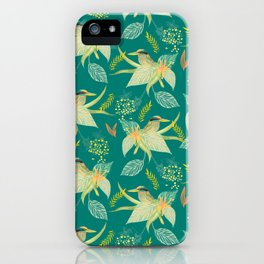 KINGFISHERS PARTY iPhone Case