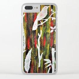 In My Garden Clear iPhone Case