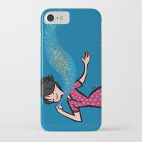 perfume iPhone & iPod Cases featuring Perfume by Bea Blanco