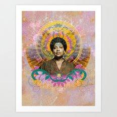 Praise Lorde: Art Godis Audre Lorde Art Print