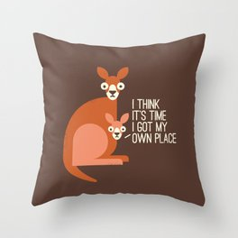 Bound to Happen Throw Pillow