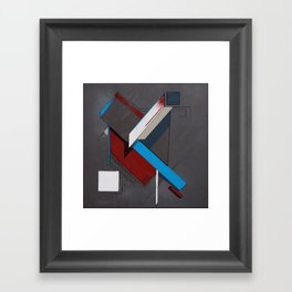 Thoughts as Objects Framed Art Print