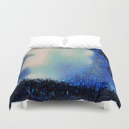 Those Blue Remembered Hills Again Duvet Cover