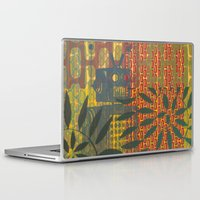 robot Laptop & iPad Skins featuring Robot by Nacho Filella Design