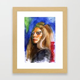 Women In Music Framed Art Print