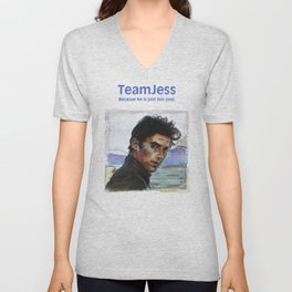 Team Jess Unisex V-Neck