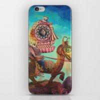 "scott pilgrim iPhone & iPod Skins featuring ""Pilgrim"" by David Ball Collage"