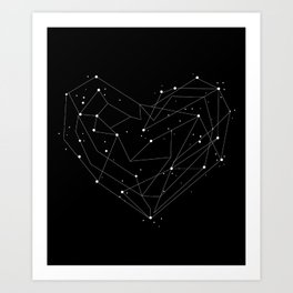 Constellations of the Heart Art Print