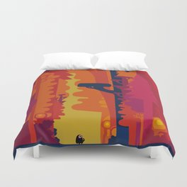 Hommage to Chris Duvet Cover