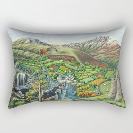 Prelude To Powys Rectangular Pillow