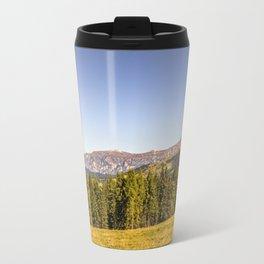 Panoramic view in the Dolomites Travel Mug