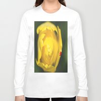 tulip Long Sleeve T-shirts featuring Tulip by Dora Birgis
