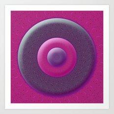 Circles CB Art Print