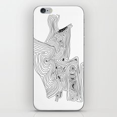 Love acceptance - minimalistic drawing iPhone & iPod Skin