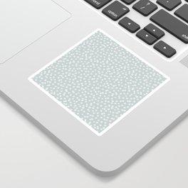 SILVER STARS CONFETTI Sticker