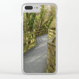 Walkway Donegal Ireland Clear iPhone Case