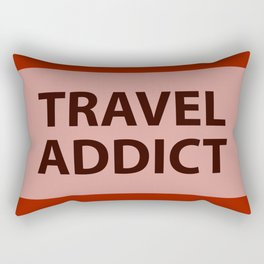 TRAVEL ADDICT Rectangular Pillow