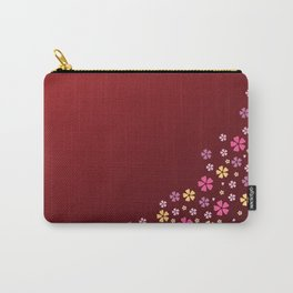 Red Kimono Carry-All Pouch
