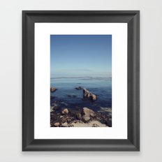 monterey horizon Framed Art Print