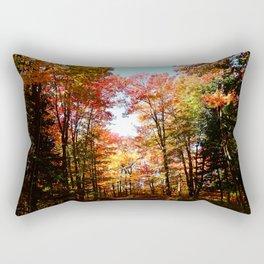 Eastern Quebec in Autumn Rectangular Pillow
