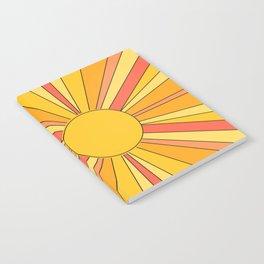 Sun rays Notebook