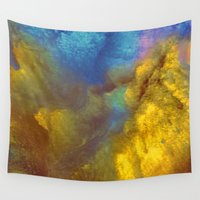 golden Wall Tapestries featuring Golden by Benito Sarnelli