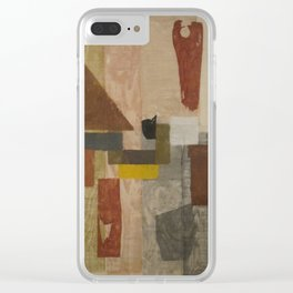 Object No. 1 by Onchi Koshiro Clear iPhone Case