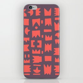 Pattern v6 iPhone Skin