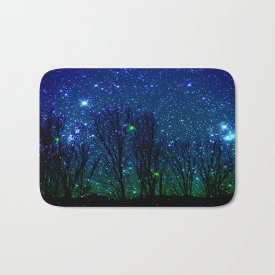 shining stars Bath Mat