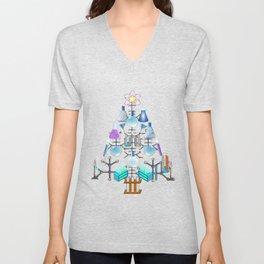 Oh Chemistry, Oh Chemist Tree Unisex V-Neck