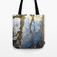 Reflections below the Medici Fountain,Luxembourg Gardens, Paris Tote Bag