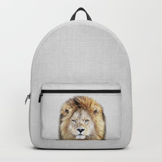 Lion 2 - Colorful by galdesign