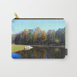 Along the Lakeside Carry-All Pouch