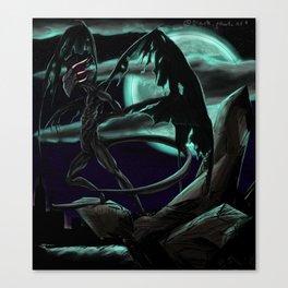 The Nightgaunt Canvas Print