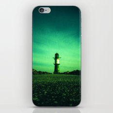 GREEN LIGHTHOUSE iPhone & iPod Skin