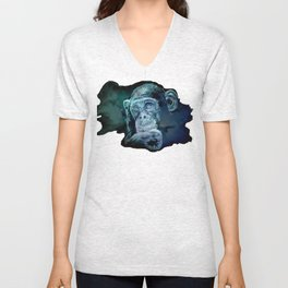 A JANE GOODALL quote - universe version Unisex V-Neck