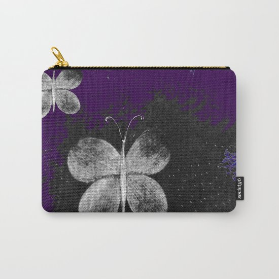 Fluttering Butterflies Carry-All Pouch