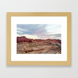 Nevada Mountains 8-7 Framed Art Print