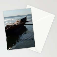 Fishing Boat Loaded with Nets Palolem Stationery Cards