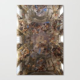 Sant'Ignazio Church, Rome Canvas Print