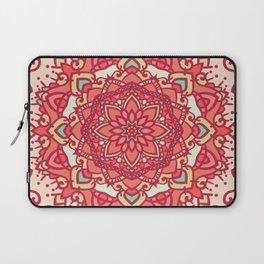 Crimson mandala Laptop Sleeve