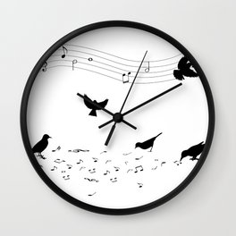 song practice Wall Clock
