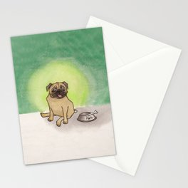 Phil the pug Stationery Cards