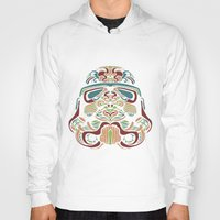 ethnic Hoodies featuring Ethnic Troopers by trevacristina