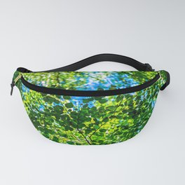 Green Leaves Of Summer Fanny Pack